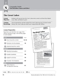 Level N: The Great Lakes (Reading Informational Text)