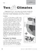 Level O: Two Climates (Reading Informational Text)