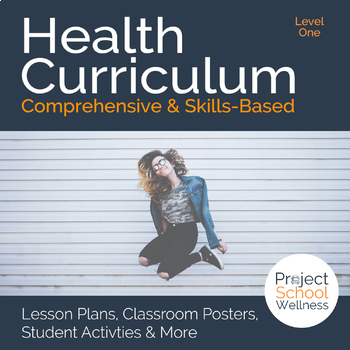Level One (6th Grade) Middle School Health Curriculum - No Prep Lesson Plans