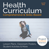 Level One (6th Grade) Middle School Health Curriculum - - Health Lesson Plans