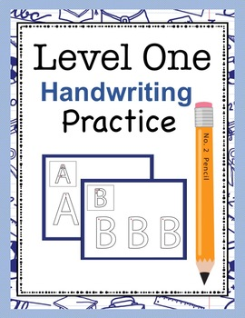 Level One Handwriting Practice