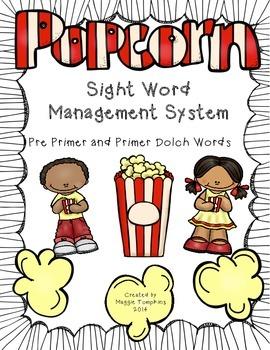 Level One Popcorn Words Management System