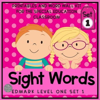Level One Sight Word Materials for Special Educators Set One