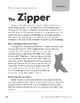 Level P: The Zipper (Reading Informational Text)