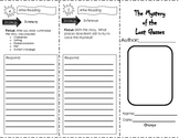 Level Reader Foldables go with The Adventures of Ali Baba Bern Treasures 4th