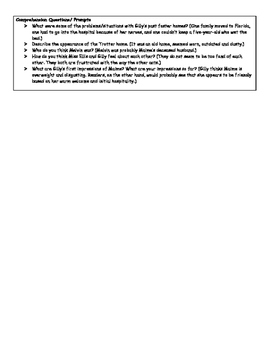 Level S Guided Reading Lesson Plans: The Great Gilly Hopkins