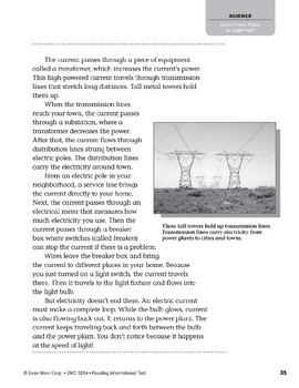 Level T: From Power Plant to Light Bulb (Reading Informational Text)