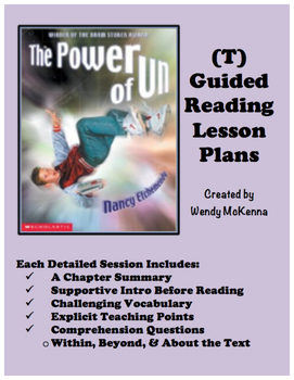 Level T Guided Reading Lesson Plans: The Power of Un