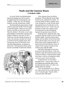 Level T: Noah and the Gummy Bears (Reading Literary Text)