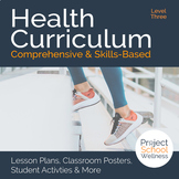Level Three (8th Grade) Middle School Health Curriculum - Health Lesson Plans