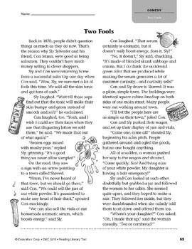 Level U: Two Fools (Reading Literary Text)