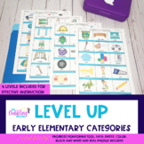 Level Up Early Elementary Categories