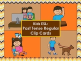 Level Up English - Past Tense Regular Cards