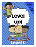 Level Up! Guided Reading for Level C (mclass,TRC aligned)