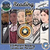 Level Up Reading - Biographies - ALL OF THEM - 125+ People + Free Downloads