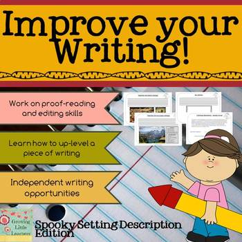 Level Up Writing Activity (VCOP activity)