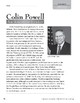 Level W: Colin Powell: An American Leader (Reading Informational Text)