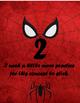 Level of Understanding: Superhero Outline Posters