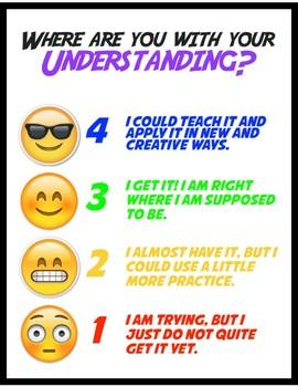 Level of Understanding poster