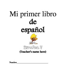 Level one Spanish workbook