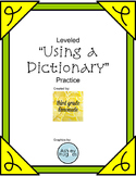 Leveled Using a Dictonary