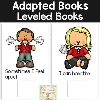 Leveled Adapted Books: Calm My Body