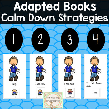 Adapted Books for Special Education: Calm Down Strategies