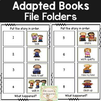 Leveled Adapted Books: Class Rules