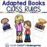 Adapted Books for Special Education: Class Rules