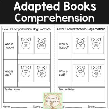 Leveled Adapted Books: Dog Emotions