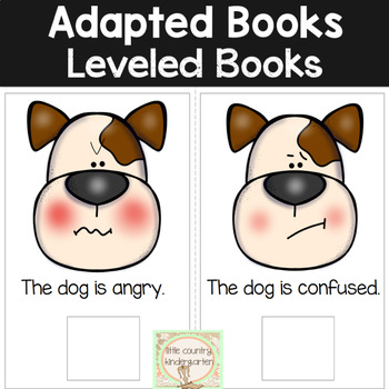 Adapted Books for Special Education: Dog Emotions