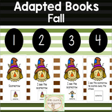 Fall Adapted Books for Special Education