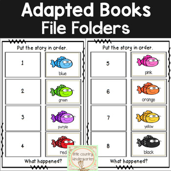 Leveled Adapted Books for Special Education: Fish Colors