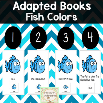Leveled Adapted Books: Fish Colors