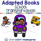 Adapted Books for Special Education: School Transportation