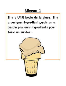 Levelled Assessment. Visual for Students. En francais!