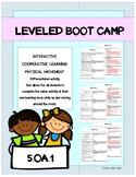 Leveled - BOOT CAMP- Math Activity- 5.OA.1