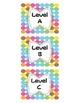 $1 Deals! Leveled Book Labels (Large Dots)
