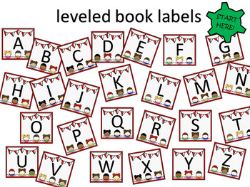 Leveled Book Labels - You size them!