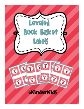 Leveled Book Labels for Book Baskets
