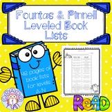 Leveled Book Lists
