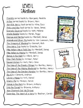 FREE! Leveled Book Lists {A Resource for Teachers, Parents, & Students}