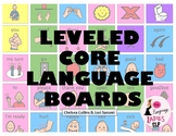 Leveled CORE Language Communication Boards for Functional Language (No Tech AAC)
