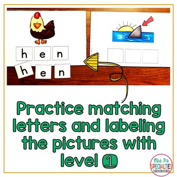 CVC Word Building & Spelling (Special Education & Autism resource)