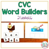 CVC Word Building & Spelling  Resource for Special Education and Autism Classes