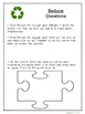Leveled Close Reading Passages for Earth Day with Jigsaw Activity!