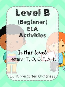Leveled ELA Packs (Beginner Level)