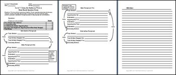 Leveled Expository Writing System
