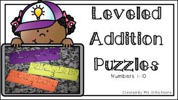 Leveled Fact Puzzles 1-10!