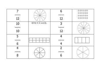 Leveled Fraction Game